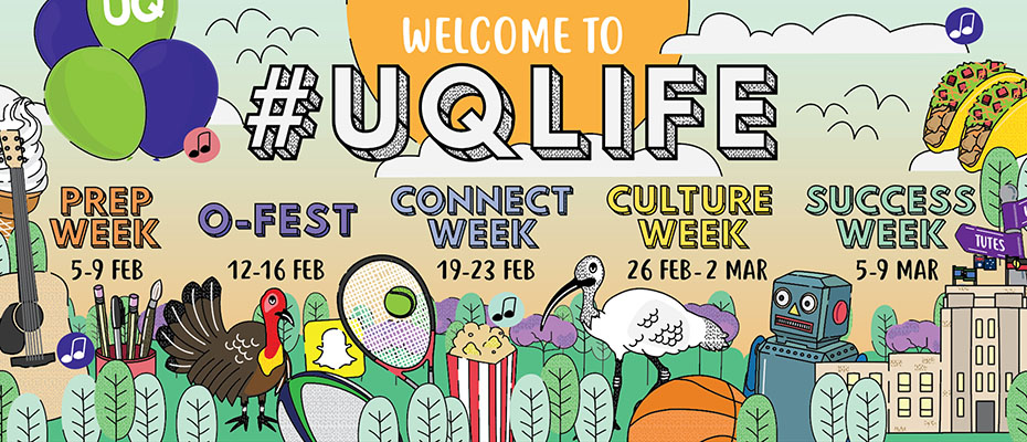 Welcome to #UQLife